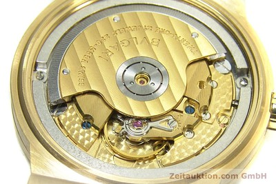 BVLGARI DIAGONO 18 CT GOLD AUTOMATIC KAL. 220MBBA LP: 16700EUR [152850]