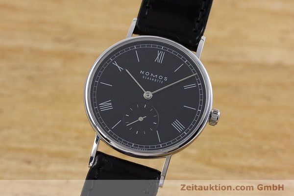 NOMOS LUDWIG STEEL MANUAL WINDING KAL. ALPHA LP: 1500EUR [152861]