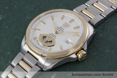 TAG HEUER GRAND CARRERA CALIBRE 6 RS STAHL / GOLD AUTOMATIK WAV515B VP: 3900,- Euro [152866]