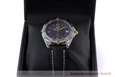BREITLING WINGS COCKPIT AUTOMATIK HERRENUHR B10050 STAHL / GOLD VP: 3930,- EURO [152876]
