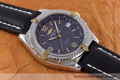 BREITLING WINGS ACIER / OR AUTOMATIQUE KAL. B10 ETA 2892A2 LP: 3930EUR [152876]