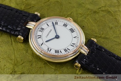 CARTIER 18 CT GOLD QUARTZ KAL. 81 [152879]