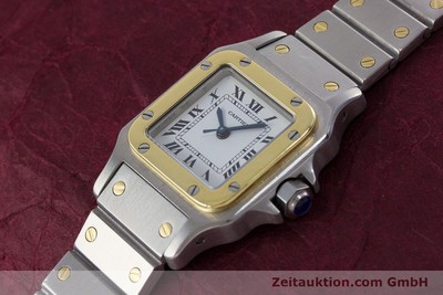 CARTIER SANTOS STEEL / GOLD AUTOMATIC KAL. ETA 2670 LP: 5600EUR [152882]