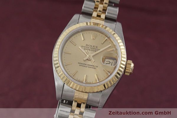ROLEX LADY DATEJUST STEEL / GOLD AUTOMATIC KAL. 2135 LP: 6950EUR [152886]