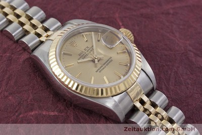 ROLEX LADY DATEJUST ACIER / OR AUTOMATIQUE KAL. 2135 LP: 6950EUR [152886]