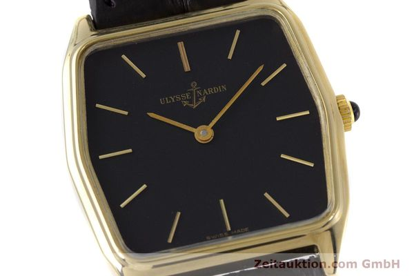 Used luxury watch Ulysse Nardin * 18 ct gold manual winding Kal. ND10C  | 152894 02