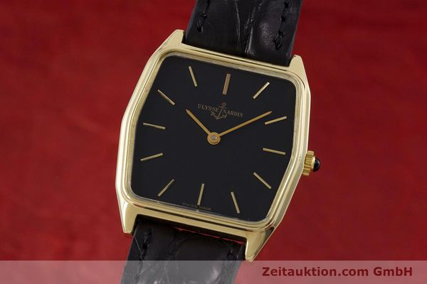 ULYSSE NARDIN 18 CT GOLD MANUAL WINDING KAL. ND10C LP: 11900EUR [152894]