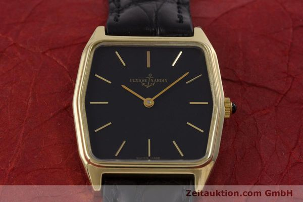 Used luxury watch Ulysse Nardin * 18 ct gold manual winding Kal. ND10C  | 152894 14