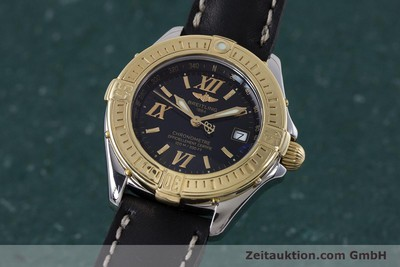 BREITLING LADY B-CLASS CHRONOMETER DAMENUHR STAHL/ GOLD D71365 VP: 3830,- EURO [152903]