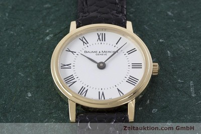 BAUME & MERCIER OR 18 CT QUARTZ KAL. 5001 ETA 901.001 [152904]
