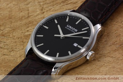UNION GLASHÜTTE VIRO STEEL AUTOMATIC KAL. U2892A2 LP: 980EUR [152912]