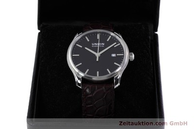 UNION GLASHÜTTE VIRO ACIER AUTOMATIQUE KAL. U2892A2 LP: 980EUR [152912]