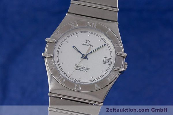 OMEGA CONSTELLATION CHRONOMETER STAHL AUTOMATIK GLASBODEN VP: 3600,- Euro [152913]