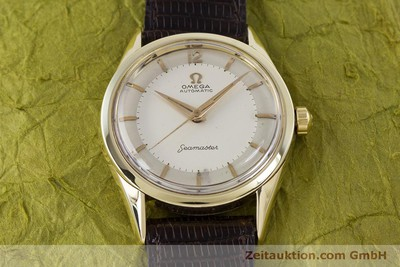 OMEGA SEAMASTER 14 CT YELLOW GOLD AUTOMATIC KAL. 471 [152922]
