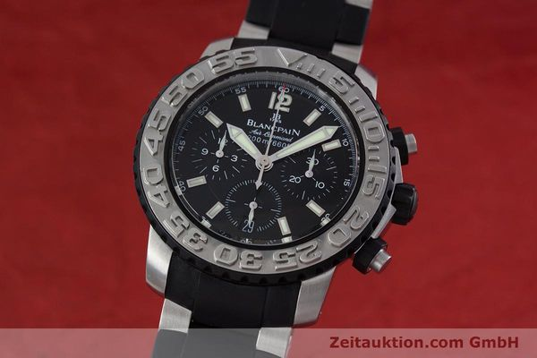 BLANCPAIN AIR COMMAND CHRONOGRAPHE ACIER AUTOMATIQUE KAL. F185 LP: 14160EUR [152931]