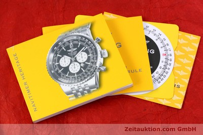 BREITLING NAVITIMER HERITAGE CHRONOGRAPH AUTOMATIK STAHL A35350 VP: 7860,- EURO [152942]