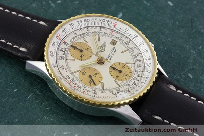 BREITLING NAVITIMER CHRONOGRAPH STEEL / GOLD AUTOMATIC KAL. VALJ. 7750 [152947]