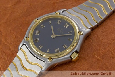 EBEL CLASSIC WAVE STEEL / GOLD QUARTZ KAL. 057 [152951]