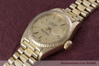 ROLEX LADY DATEJUST OR 18 CT AUTOMATIQUE KAL. 2030 LP: 20600EUR [152952]