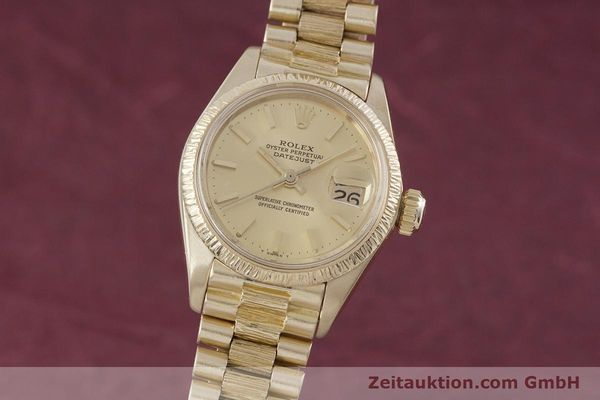 ROLEX LADY DATEJUST 18 CT GOLD AUTOMATIC KAL. 2030 LP: 20600EUR [152952]