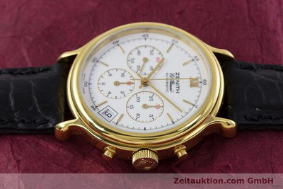 ZENITH ELPRIMERO CHRONOGRAPH GOLD-PLATED AUTOMATIC KAL. 400 [152954]