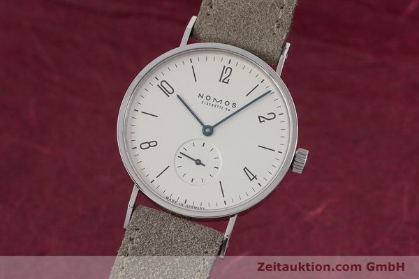 NOMOS TANGENTE STEEL MANUAL WINDING KAL. ETA 7001 LP: 1320EUR [152955]