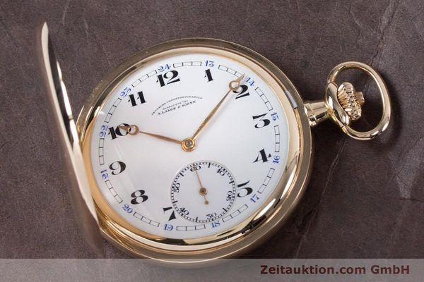 Used luxury watch A. Lange & Söhne DUF 14 ct yellow gold manual winding Kal. 41  | 152957 02