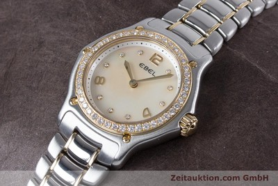EBEL 1911 STEEL / GOLD QUARTZ LP: 4400EUR [152979]