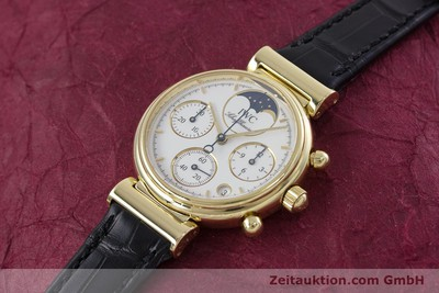 IWC DA VINCI CHRONOGRAPH 18 CT GOLD QUARTZ KAL. 630/1 [152989]