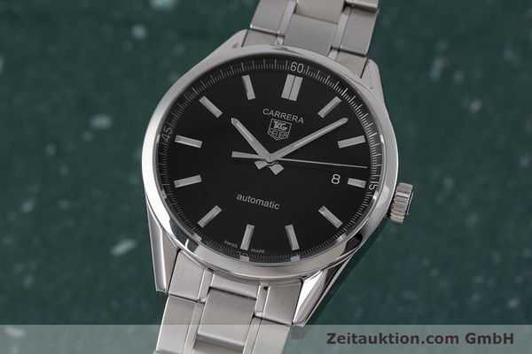 TAG HEUER CARRERA STEEL AUTOMATIC KAL. 5 ETA 2824-2 LP: 2150EUR [152991]