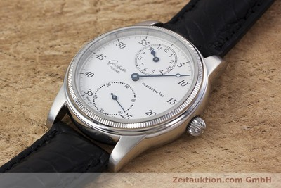 GLASHÜTTE 1845 REGULATOR ACCIAIO CARICA MANUALE KAL. GUB 49 LP: 6000EUR [152994]