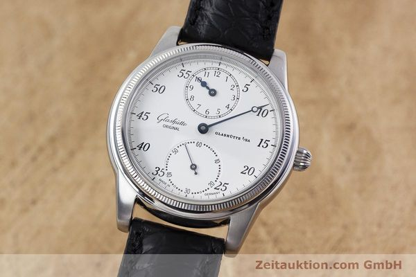 GLASHÜTTE 1845 REGULATOR ACERO CUERDA MANUAL KAL. GUB 49 LP: 6000EUR [152994]