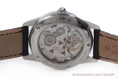 GLASHÜTTE 1845 REGULATOR STEEL MANUAL WINDING KAL. GUB 49 LP: 6000EUR [152994]