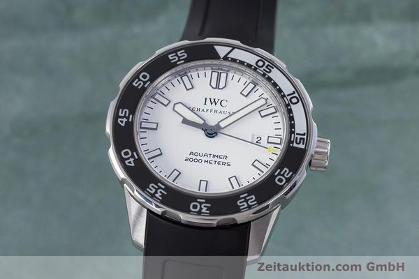 IWC AQUATIMER STEEL AUTOMATIC KAL. 30110 LP: 4940EUR [152996]