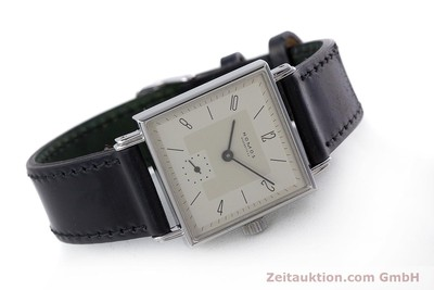 NOMOS TETRA STEEL MANUAL WINDING KAL. ETA 7001 LP: 1440EUR [152998]