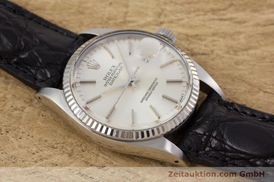 ROLEX DATEJUST ACIER / OR BLANC AUTOMATIQUE KAL. 3035 LP: 6350EUR [153000]