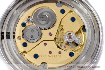 NOMOS TANGENTE STEEL MANUAL WINDING KAL. ETA 7001 LP: 1320EUR [153002]