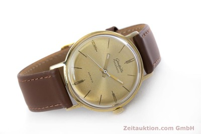 GLASHÜTTE SPEZIMATIC GOLD-PLATED AUTOMATIC KAL. 74 VINTAGE [153006]