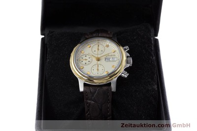 GLASHÜTTE CHRONOGRAPH STEEL / GOLD AUTOMATIC KAL. ETA 7750 [153008]