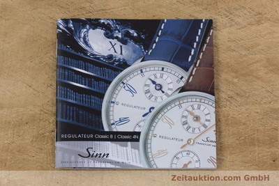 SINN REGULATEUR STEEL MANUAL WINDING KAL. S204 UNITAS 6498-1 LP: 0EUR [153009]