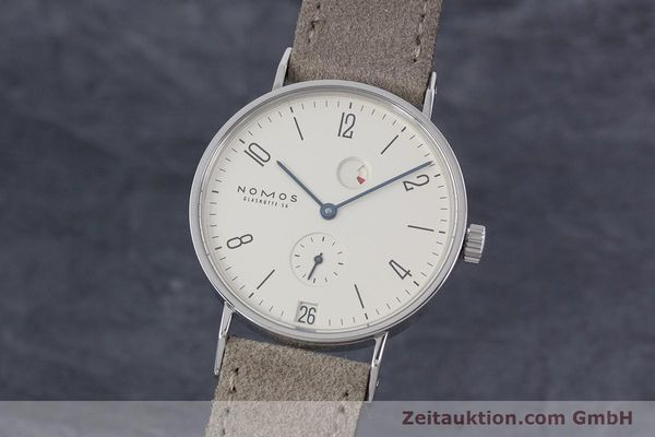 NOMOS TANGENTE STEEL MANUAL WINDING KAL. TSDPG ETA 7001 LP: 2480EUR [153011]