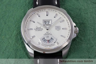 TAG HEUER GRAND CARRERA CALIBRE 8 GMT AUTOMATIK HERRENUHR WAV5112 NP: 3950,- EUR [153023]