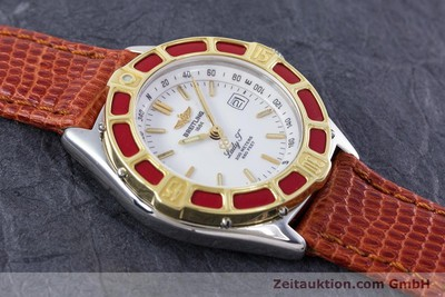 BREITLING LADY J CLASS STAHL / GOLD DAMENUHR TOP D52065 VP: 2290,- EURO [153025]
