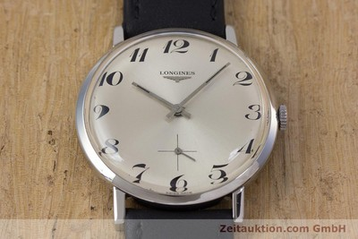 LONGINES STEEL MANUAL WINDING KAL. 490 [153035]