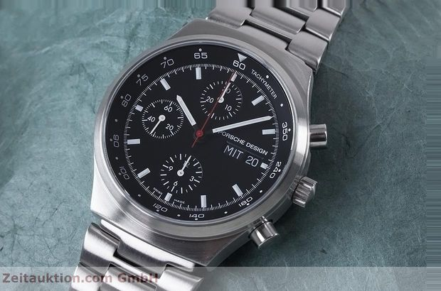 Used luxury watch Porsche Design by Eterna chronograph steel automatic Kal. ETA 7750 Ref. PD 674.6625.41.41 LIMITED EDITION | 153039 01