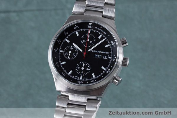 PORSCHE DESIGN BY ETERNA CHRONOGRAPHE ACIER AUTOMATIQUE KAL. ETA 7750 LP: 4300EUR [153039]