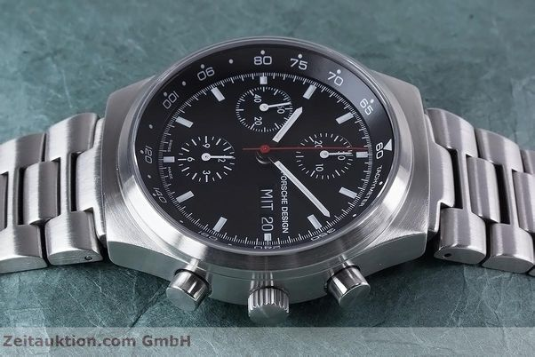 Used luxury watch Porsche Design by Eterna chronograph steel automatic Kal. ETA 7750 Ref. PD 674.6625.41.41 LIMITED EDITION | 153039 05