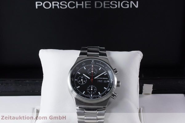 Used luxury watch Porsche Design by Eterna chronograph steel automatic Kal. ETA 7750 Ref. PD 674.6625.41.41 LIMITED EDITION | 153039 07