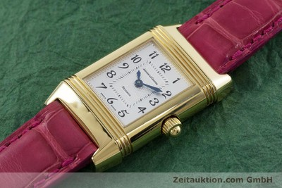 JAEGER LE COULTRE REVERSO 18 CT GOLD MANUAL WINDING KAL. 644 LP: 17900EUR [153040]