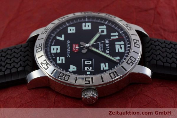Used luxury watch Chopard Mille Miglia steel automatic Kal. ETA 2896 Ref. 8955  | 153045 05